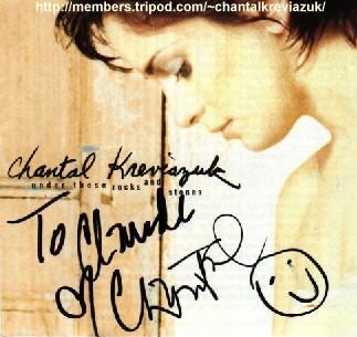 Autographed stuff