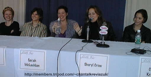 Lilith Fair Press Conference